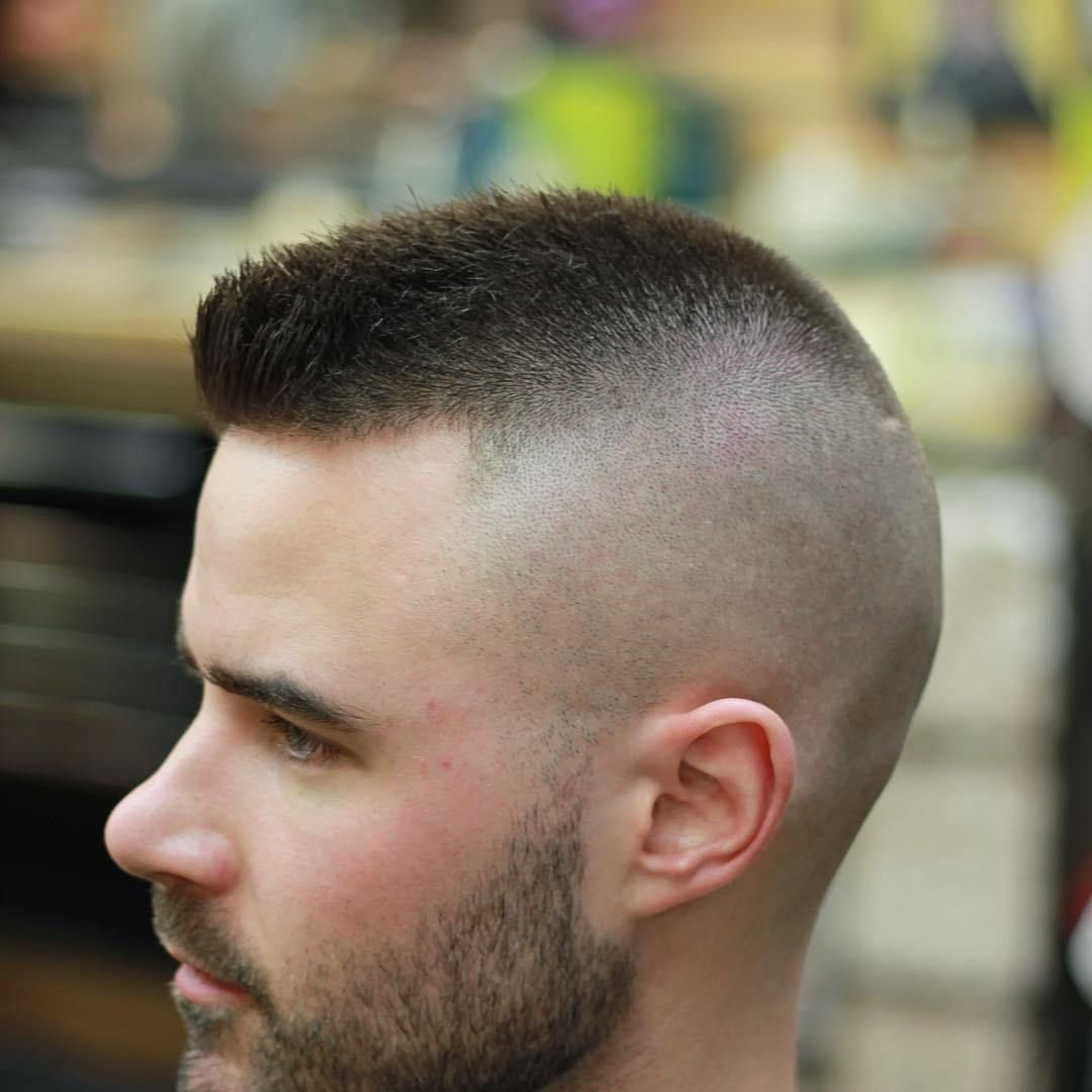 Short spikes with high and tight styles in pinterest