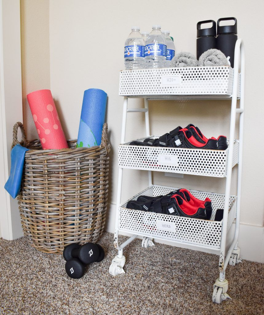 How to Create an Easy Guest Bedroom Spin Station images