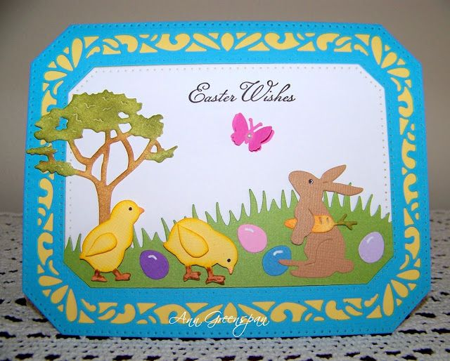 Dies R Us: Easter Wishes by Ann