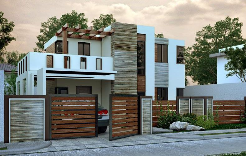 double story house plan floor area 103 square meters myhomemyzone rh pinterest com