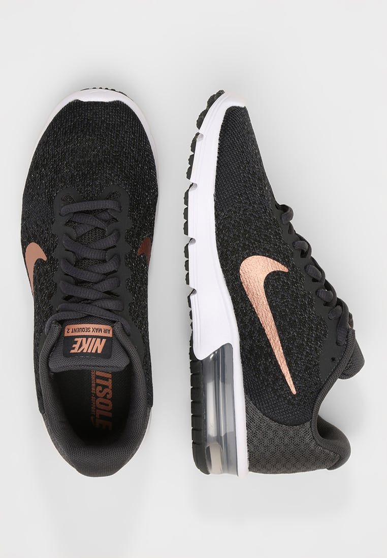 Nike Performance AIR MAX SEQUENT 2 - Scarpe running neutre -  anthracite metallic red bronze black a € 87 b5fe1fde16d4