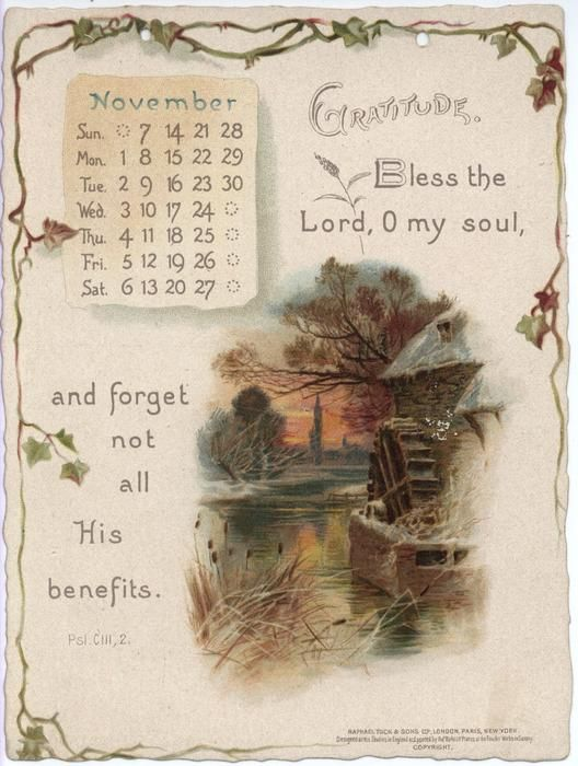 CHRISTIAN GRACES CALENDAR FOR 1897. | Иллюстрации ...