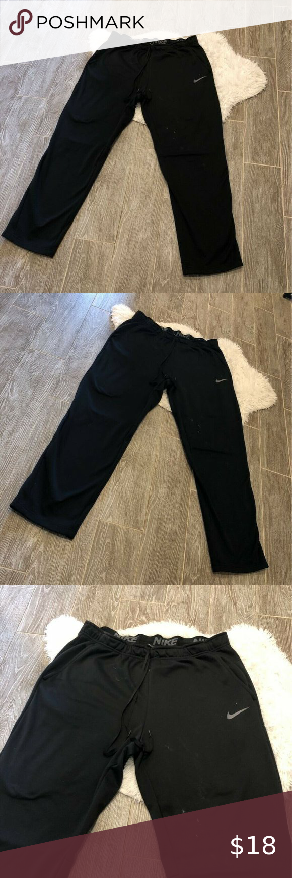 Nike Dri Fit Activewear Straight Leg Pants XXL in 2020