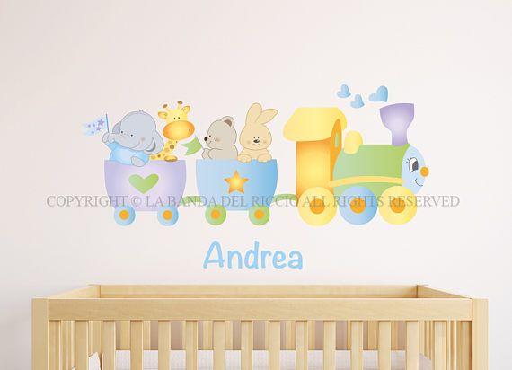 Adesivi murali bambini Wall decals Baby Wall stickers | Baby Wall ...