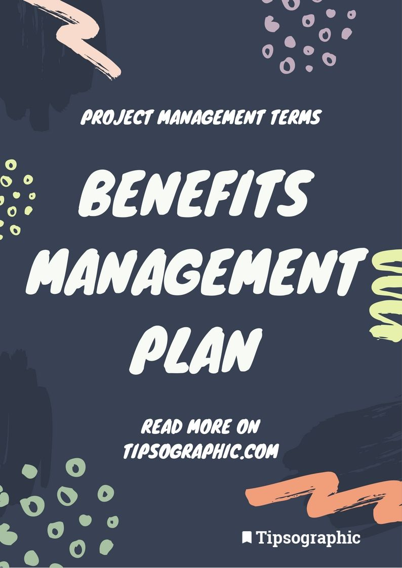 Project Management Terms Benefits Management Plan Pmp