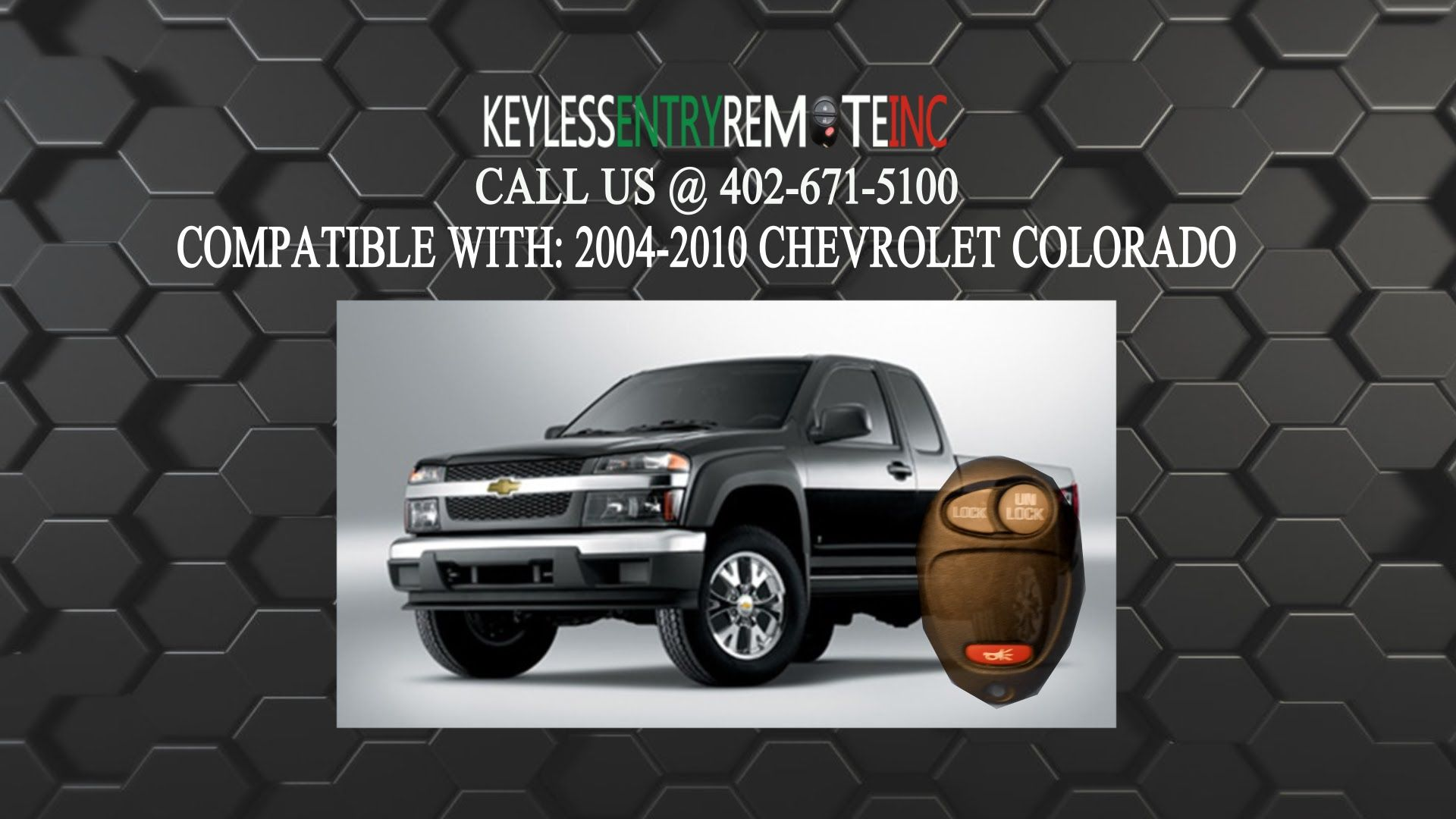 How to replace a chevrolet colorado key fob battery 2004