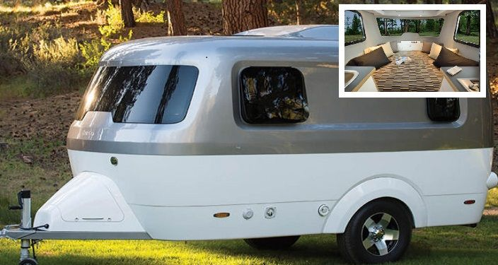 Small Airstream To Make Road Trips Cheaper Inspire Me Small