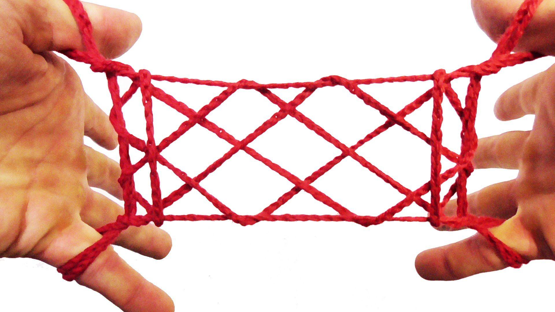 String Tricks! How To Make A Rug String Figure (Apache