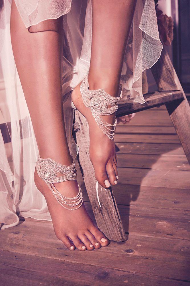 Designer Highlight: Anna Campbell Wedding Dresses   Boj y Sandalias