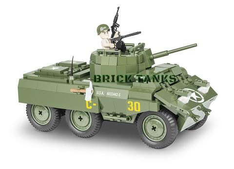 P-4 Armoured Car-Cobi 2336-200 Pièces Brique Set