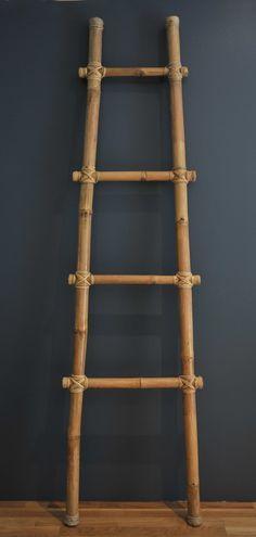 Echelle Bambou Saniteck Deco Bamboo Bamboo Crafts Et Bamboo