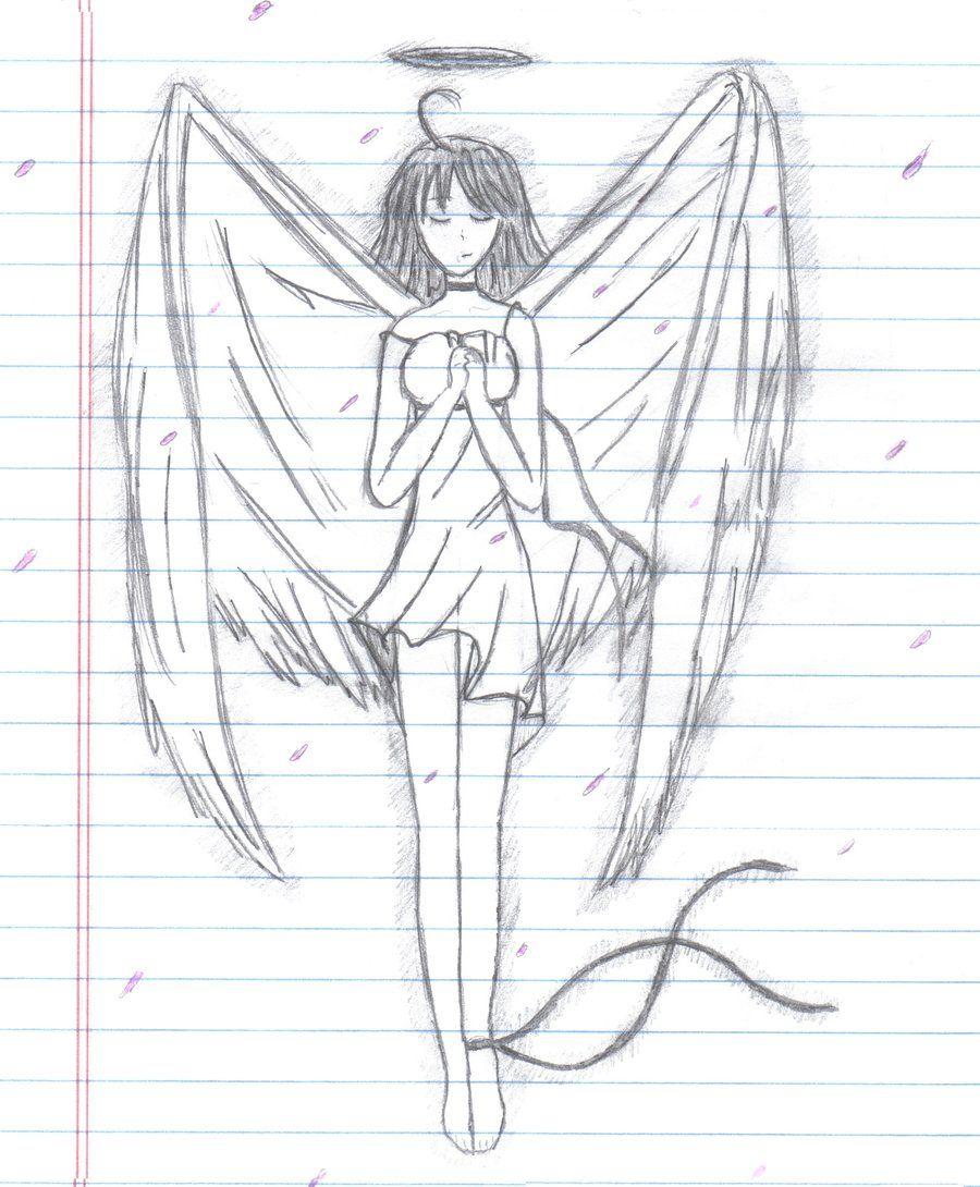 Cool Anime Drawings Anime Angel By Armygirl5433 Manga Anime