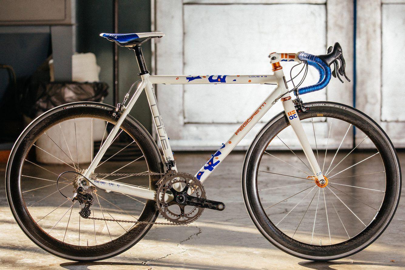 A Farewell Pegoretti Love 3 Aluminum Road Bike Folding