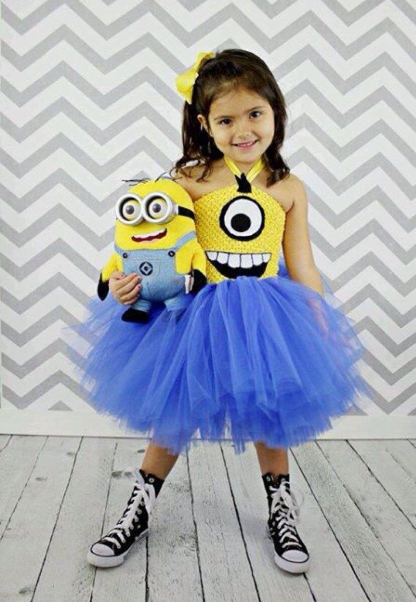 MamiExplorer busca.....Disfraces con tutús. Minion DressMinion TutuTutu Costumes GirlsMinion ...  sc 1 st  Pinterest : minion toddler girl costume  - Germanpascual.Com
