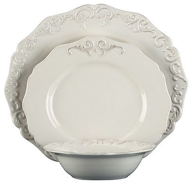 white dinnerware | Style Story - Antique white dinnerware  sc 1 st  Pinterest : antique white dinnerware - pezcame.com