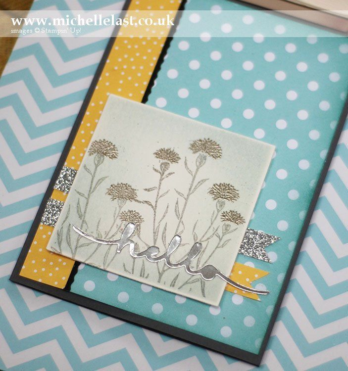Wild about Flowers from Stampin' Up! - with Michelle Last