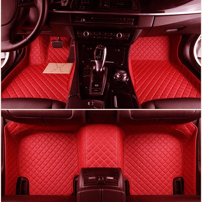 Automobiles & Motorcycles Auto Interior Decoration Protector Accessories Automovil Modification Automobile Carpet Car Floor Mats For Jeep Renegade Floor Mats