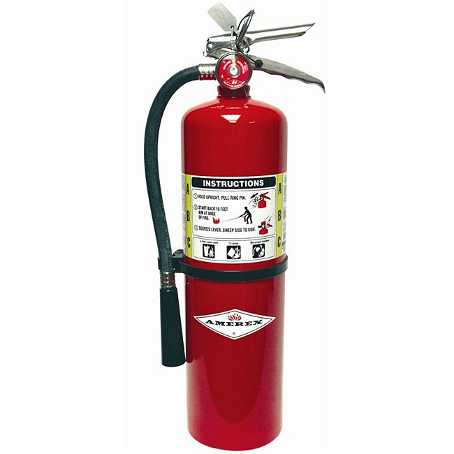 This Amerex 10 Lb Multi Purpose Abc Fire Extinguisher Has A Ul Rating Of 4a 80b C These Popular Abc Dry Chemical Fi Fire Extinguisher Fire Extinguishers Fire