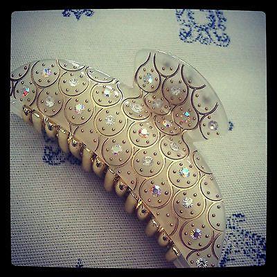 Fashion crystal gem stone rhinestone hair claw | Barrette ...  Real