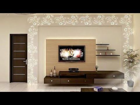Ultra modern tv cabinet design ideas youtube decor in - Modern tv wall unit designs for living room ...