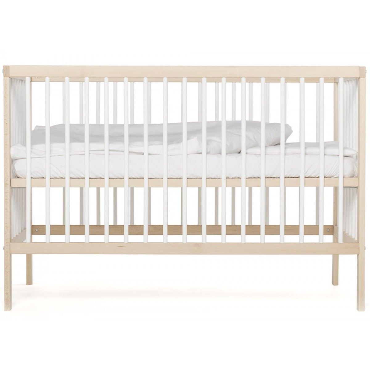 Mokee Mini Cot In White Beech Colour 226 Suitable From