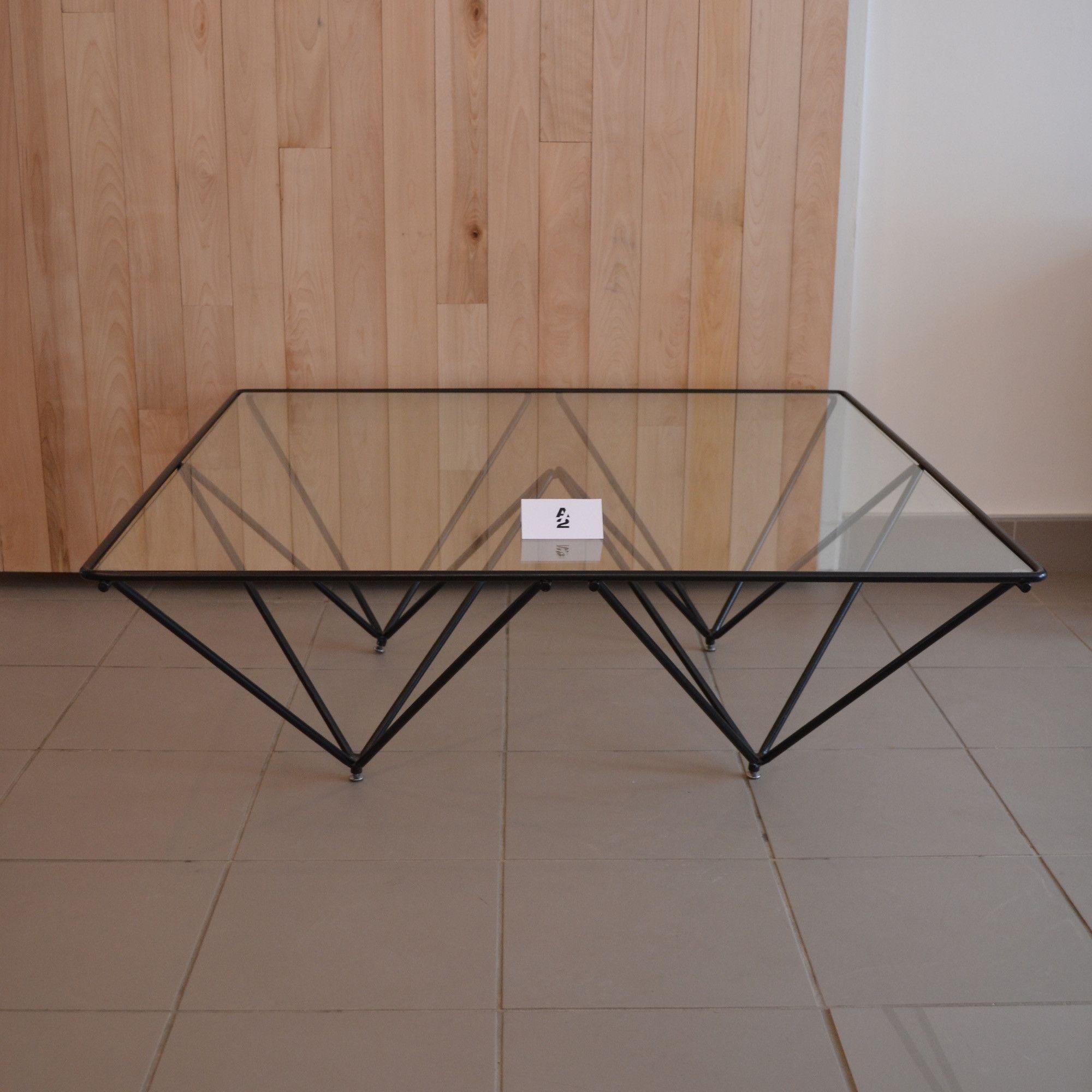 Mid Century Modern Table Basse De Style Paolo Piva Alanda Casa