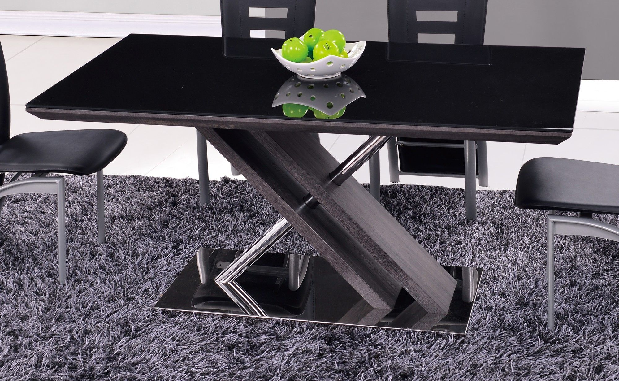 Skinner Dining Table Glass Dining Table Dining Table In Kitchen Dining Table