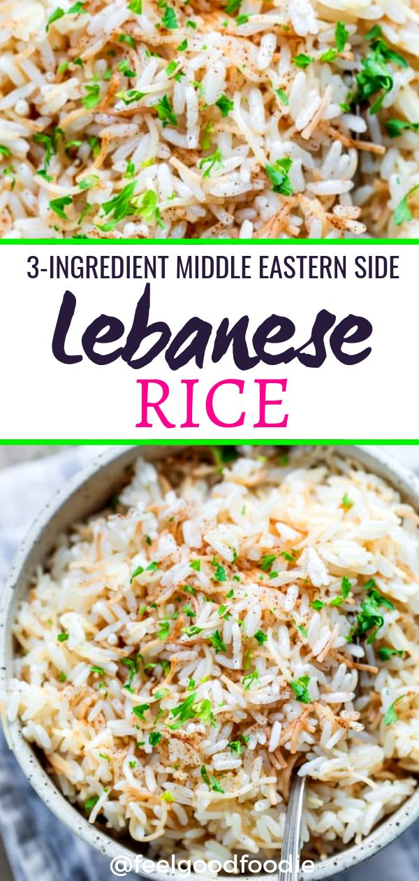 Lebanese Rice #foodsides