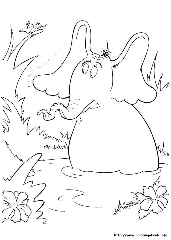 Horton Hears A Who Coloring Pages Coloring Pages Inspirational