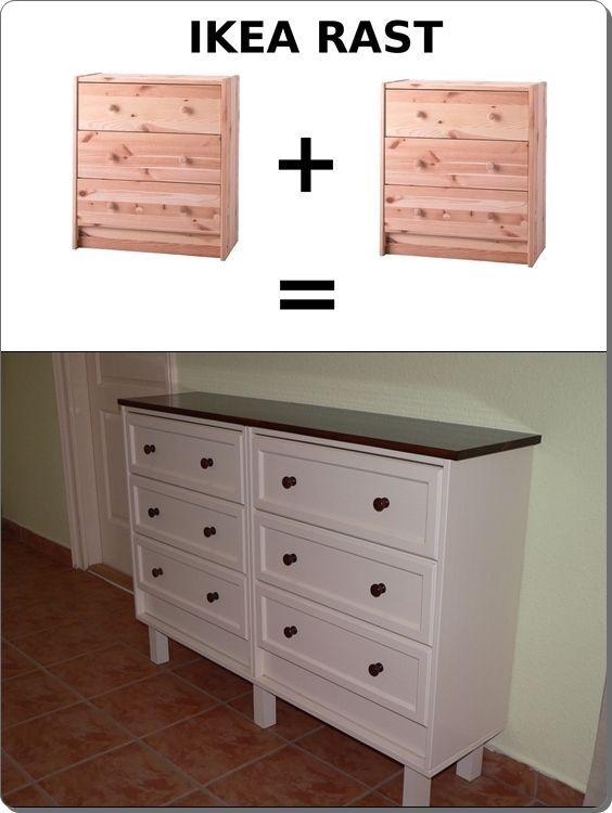 Ikea Rast hack elegáns cipős szekrény - ÚjragondoLOM Blog For - küchen unterschrank ikea
