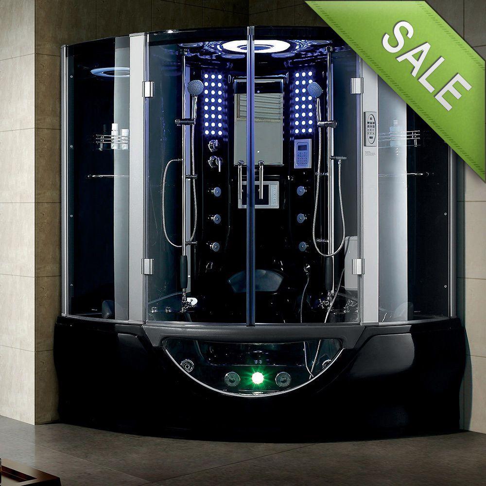new 2017 luxury steam shower massage bathtub jetted whirlpool hot tub sauna spa
