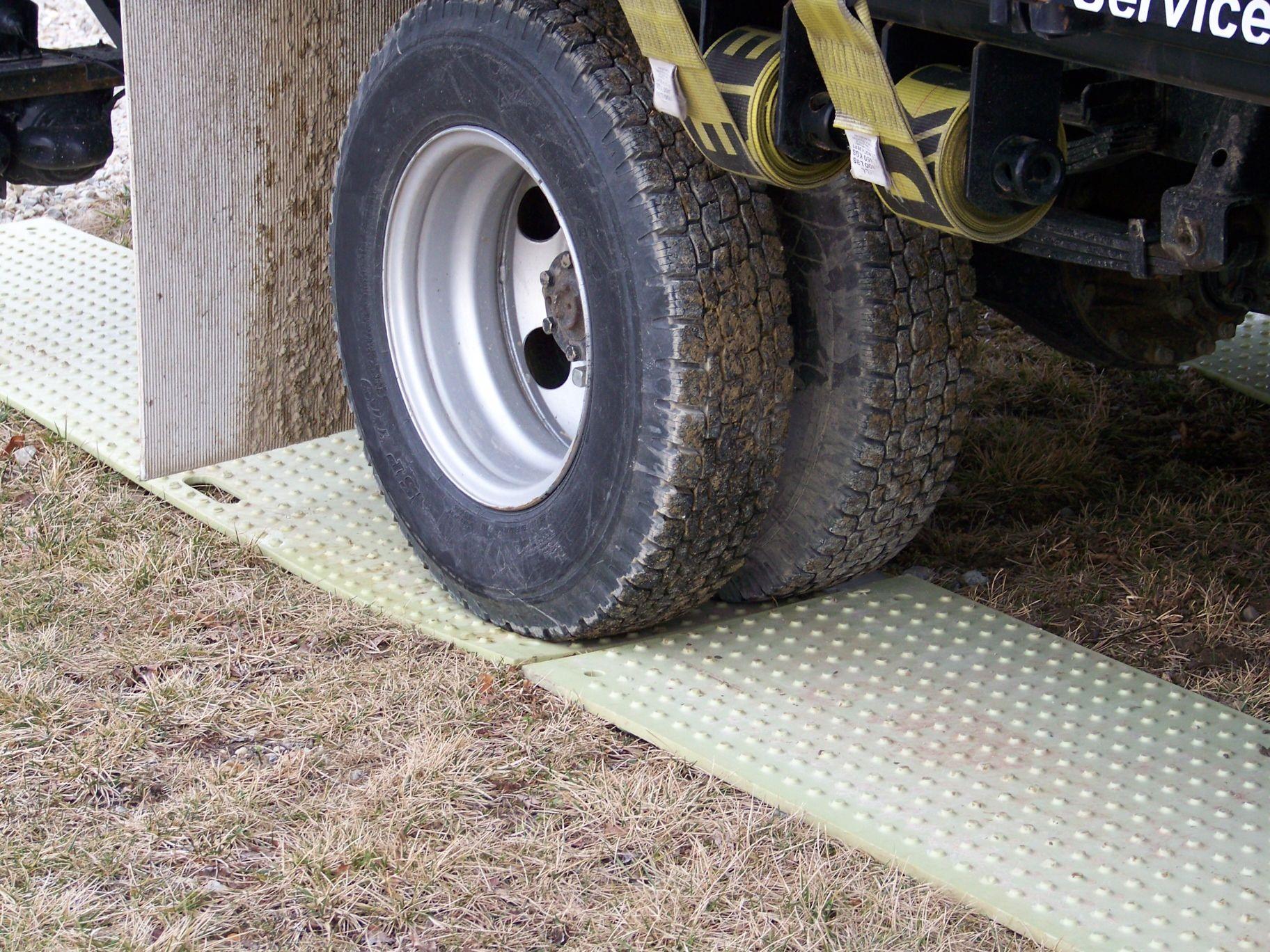 Prevent turf damage use trakmats trakmats go great