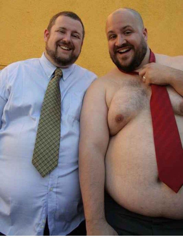 A chubby bear couple — pic 9