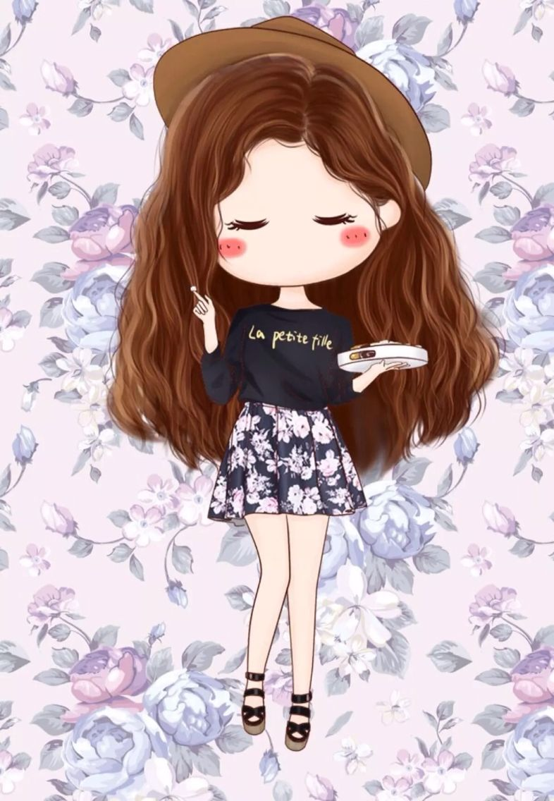 Wallpaper Girly Teens Illustrations In 2018 Pinterest Chibi