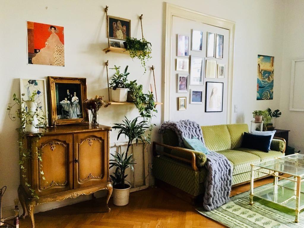Wunderschöne Möbelstück im Vintage-Stil. #Wohnzimmer #Einrichtung