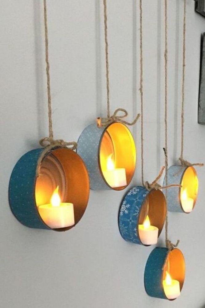 Easy DIY Home Decor Lighting Idea – Diy wall decor cheap
