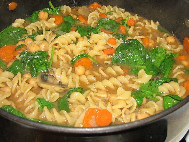 chickpea noodle soup #chickpeanoodlesoup Chickpea Noodle Soup from Veganomicon - one of my faves! #chickpeanoodlesoup