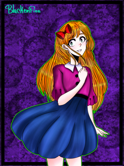 Elizabeth Afton Sl By Blackemfine Fnaf Drawings Anime Fnaf Fnaf Art