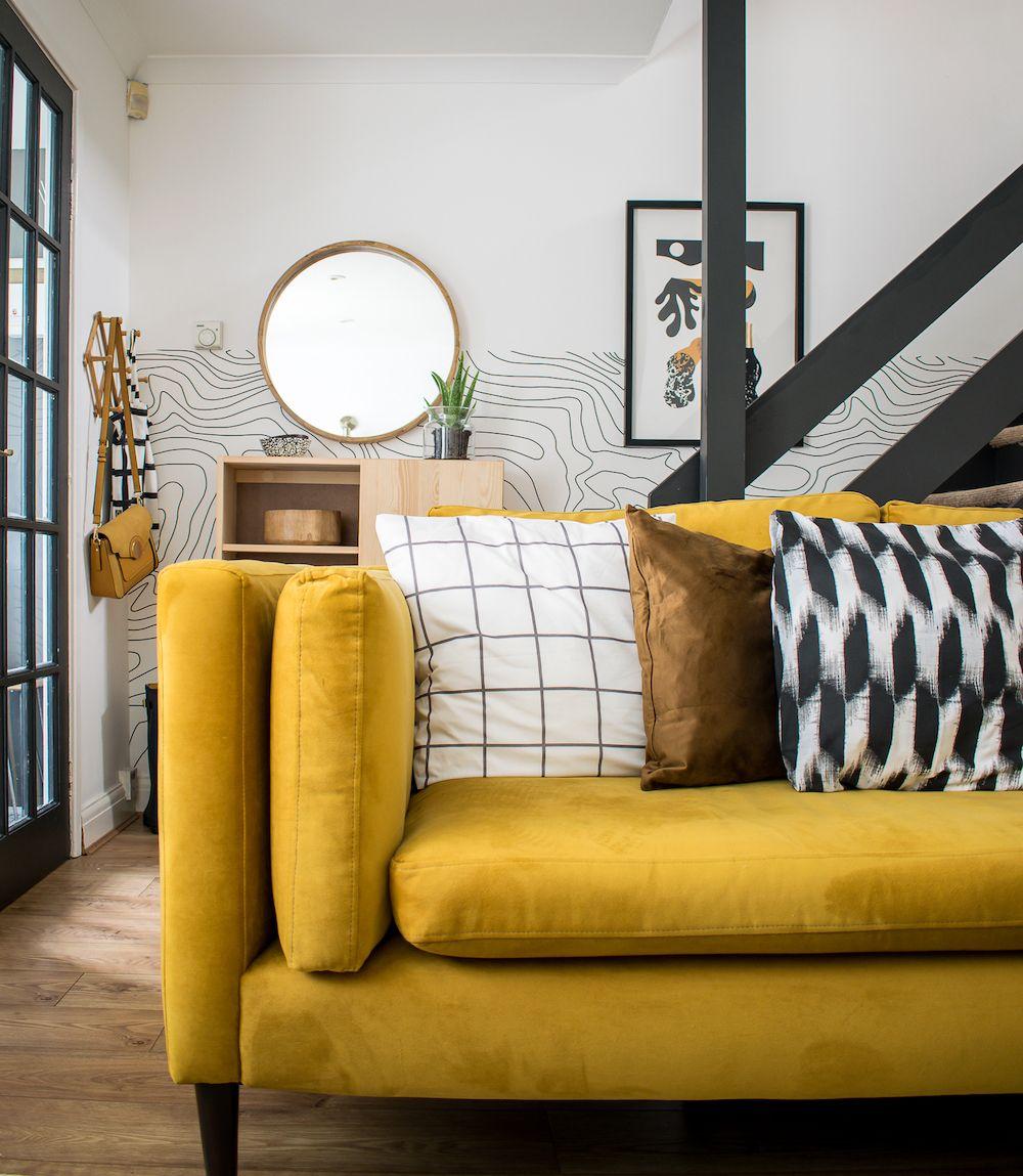 Boho Spring Living Room Tour (with Argos Home Cushions