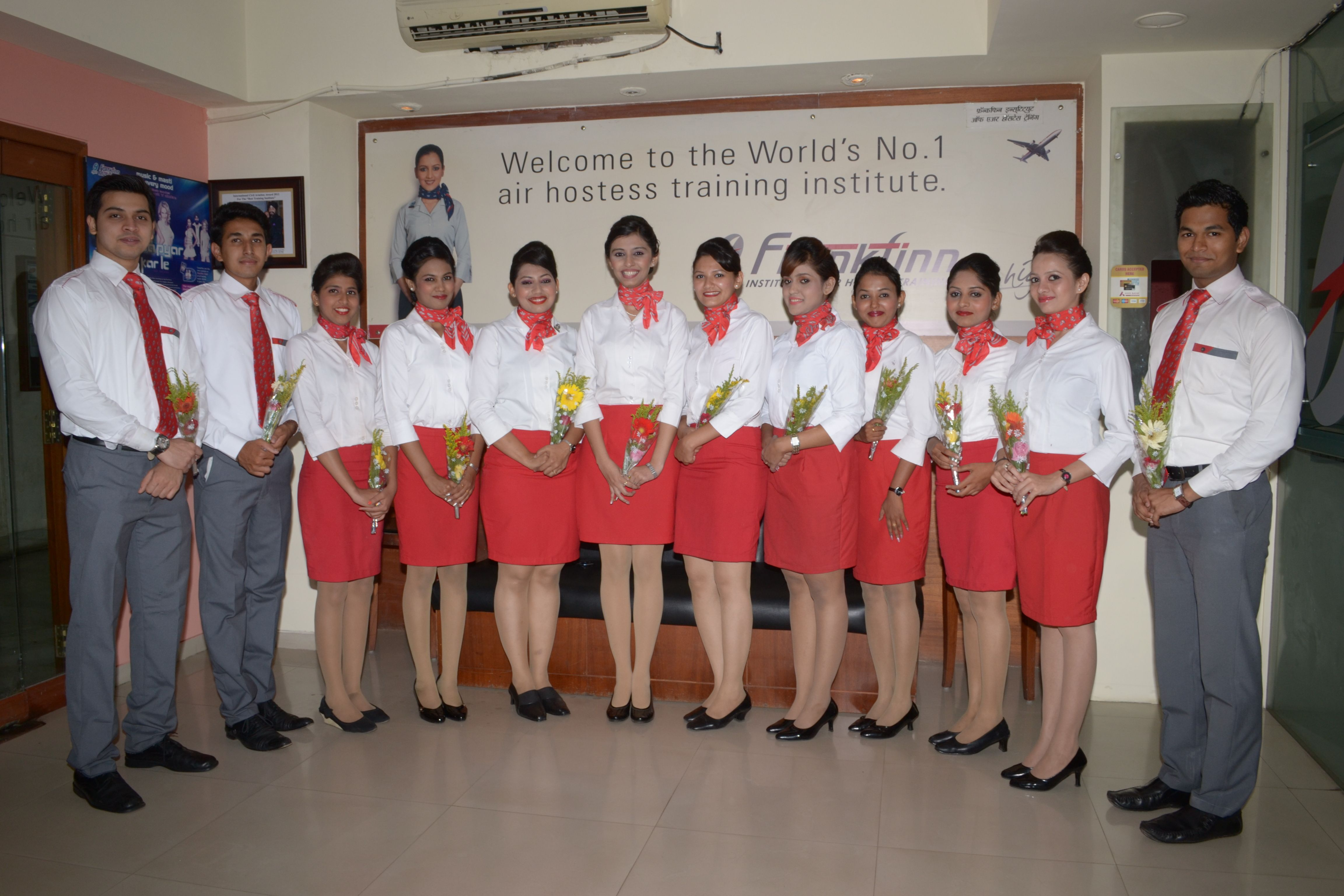 Frankfinn Institute Of Air Hostess Training Is Booked For Group