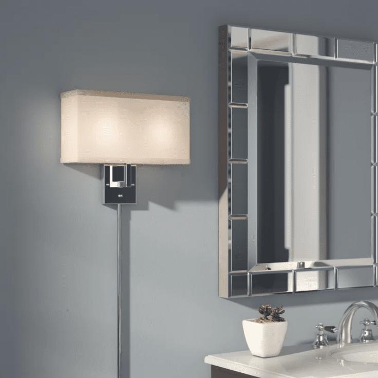 The 9 Best Plug In Light Fixtures Of 2020 Plug In Wall Sconce Bedroom Light Fixtures Light Fixtures