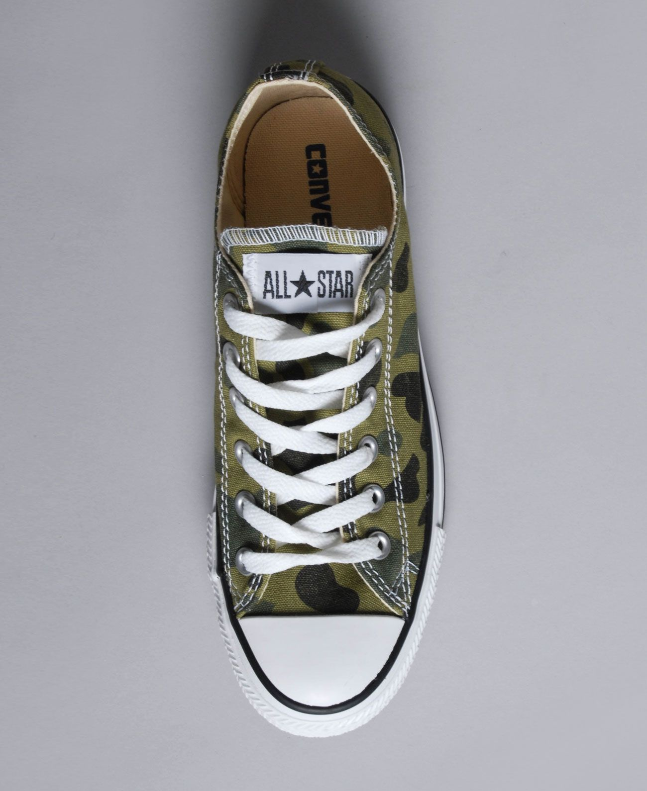 converse all star mujer verde militar