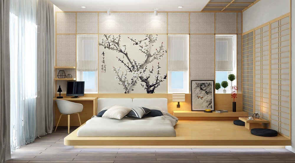 How To Create A Japanese Bedroom And Home Simple Design Tips Ideas Bedlyft Japanese Bedroom Decor Japanese Style Bedroom Japanese Bedroom
