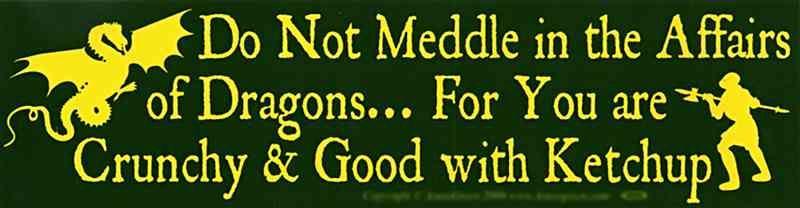 Do Not Meddle Bumper Sticker Bumper Stickers Funny Bumper