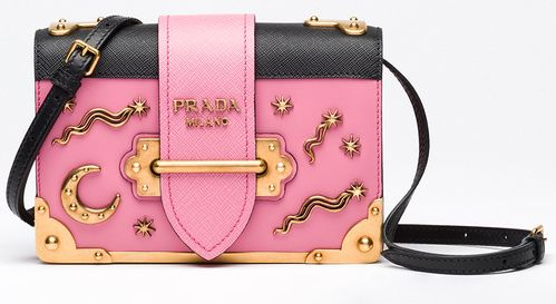 Prada Cahier bag in calfskin leather and Saffiano leather 44ab2dbbb76