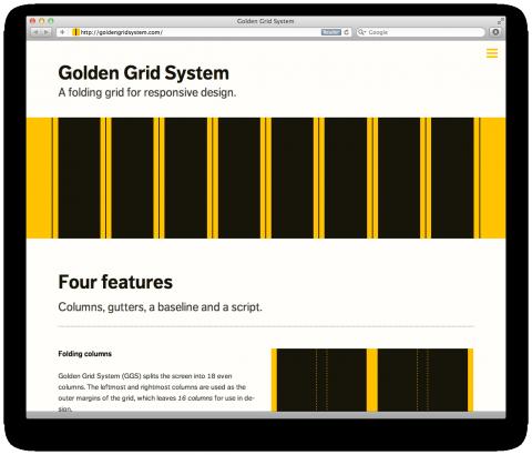 Golden Grid System Grid System Responsive Webdesign Grid System Web Design Resources Grid Design