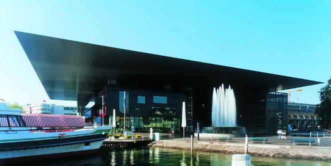 Lucerne Culture and Congress Centre by Jean Nouvel