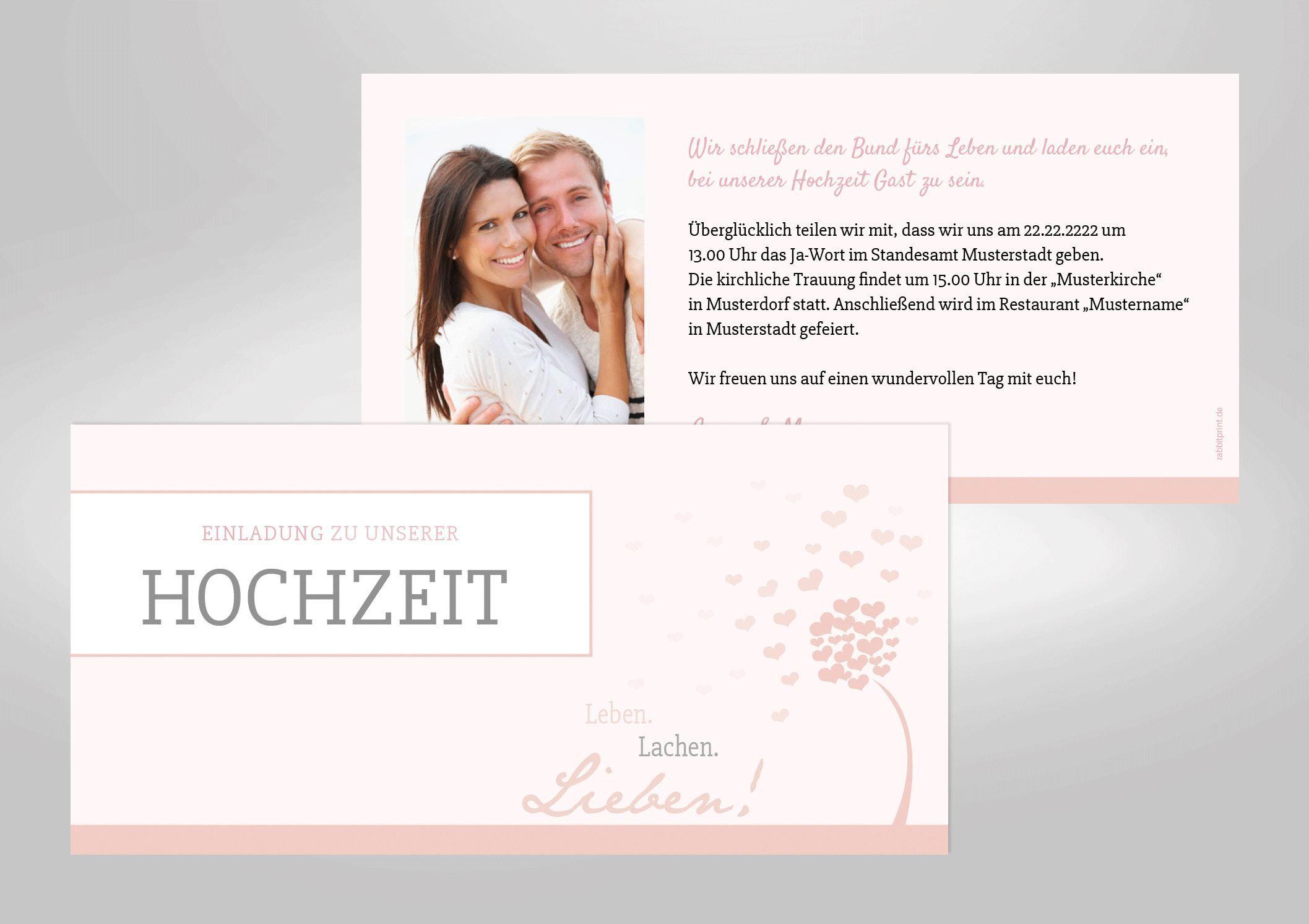 Einladungskarten Kostenlos Gestalten Und Drucken : Hochzeitseinladungen  Text Compressed   Online Einladungskarten   Online Einladungskarten