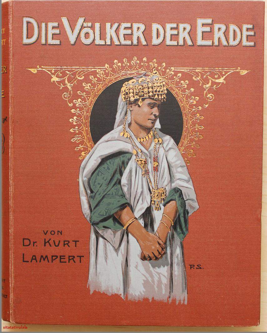 Deutsche Verlagsanstalt die völker der erde in 2 bänden dr kurt lert deutsche