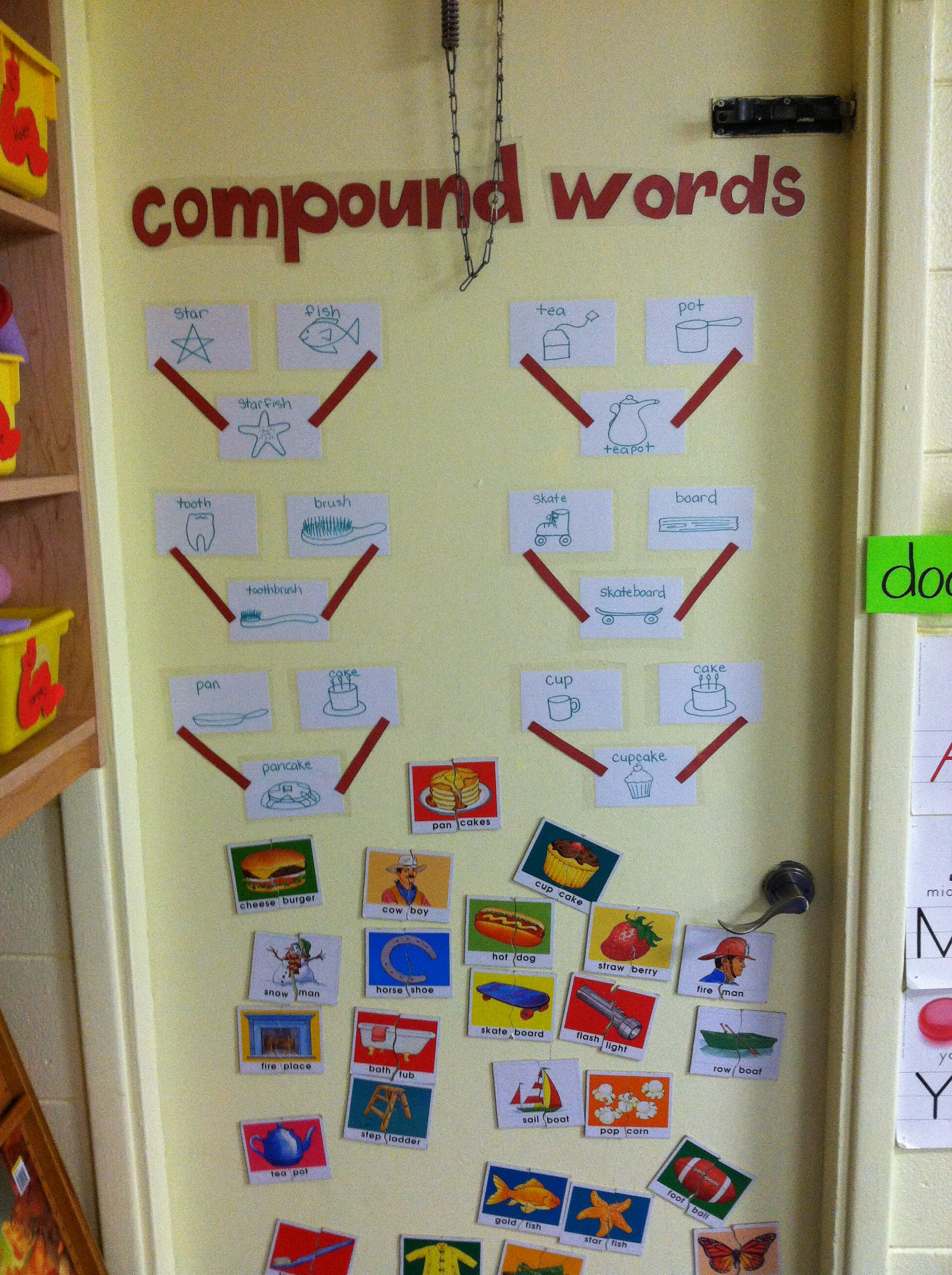 Preschool Compound Words